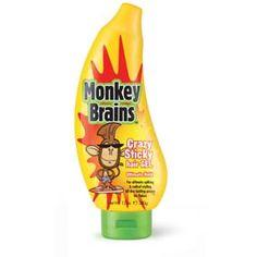 Monkey Brains GEL MONKEY B CRAZY STICKY HAIR 340GR Aporta locura y un estilo radical al cabello creando un look sorprendente, acorde a tu creatividad y diferente todos los días Monkey, Brain, Halloween Ideas, Style Ideas, Hair Style, Food, Kids, Health And Wellness, Madness