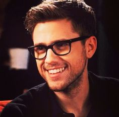 14 Songs Sung By Aaron Tveit That Will Make You Melt On The Spot Hey. I'm Aaron Barks. I'm 19 and single. I'm an actor and a singer. My sister, Sam, means the world to me so don't any of you dare hurt her. Grease Live, 3 Gif, Ugly Betty, Attractive Men, Pretty People, Beautiful People, Beautiful Boys, Man Crush, To My Future Husband