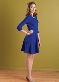Dress Sewing Patterns: The Big Blue free patterns from Sew Daily