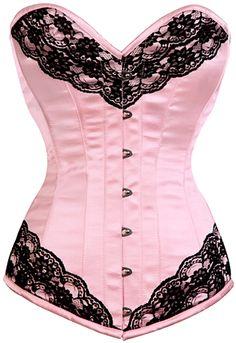 The Violet Vixen - Dragon Lace Cupcake Pink Corset, $93.00 (http://thevioletvixen.com/corsets/dragon-lace-cupcake-pink-corset/)