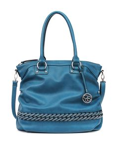 Jessica Simpson Solid Color Posh Bonita Tote Bag | Stage Stores