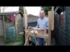 Using a Pole Lathe - How to get Best Results, Chisels to Use etc. - YouTube