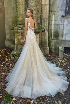 Graceful Fairy Tale Wedding Dress from Galia Lahav