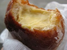 The Doughnut Plant, in New York City, and try this creme brulee doughnut.  This place won on Bobby Flay's Throwdown!