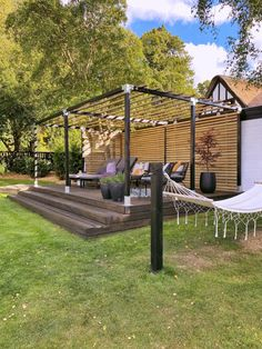 Outdoor Areas, Outdoor Structures, Gazebo Pergola, Privacy Walls, Cottage Renovation, Garden Projects, Garden Inspiration, Lounge, Villa