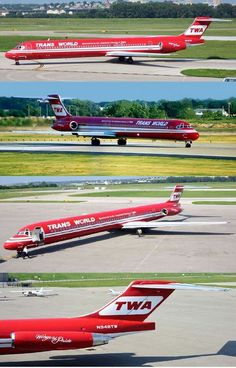 "TWA ""Wings of Pride"" Reverse Livery - Trans World Airlines"