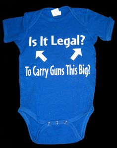Is it legal  baby shirt or onesie by bdcornelius on Etsy, $14.99