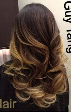 balayage ombre. Starting this process next week!