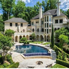 Mansion luxury lifestyle, luxury real estate, mount olympus, house plans, b Mansion Homes, Mega Mansions, Modern Mansion, Casa Real, The Sims, Big Houses, House Goals, Palaces, Luxury Real Estate