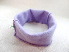 Cashmere Earwarmer Headband LAVENDER PURPLE Ear by WormeWoole, $12.00