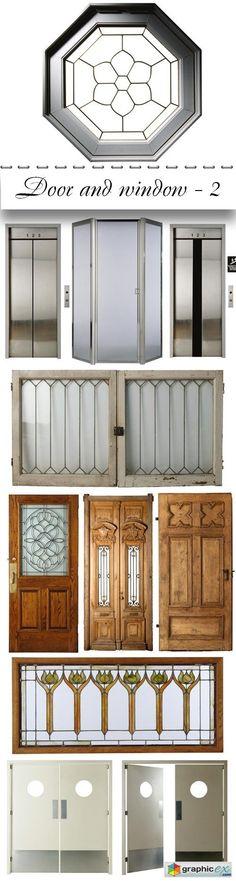 Door and window part 2  stock images