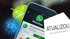 Neste vídeo vamos falar da atualização do aplicativo whatsapp no qual está com novidades. Acesse: https://youtu.be/efDzjyBvx_Q