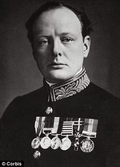 1914-1920 --- Original caption: As First Lord of the Admiralty in World War I, Churchill mobilized the British grand fleet without Cabinet a...