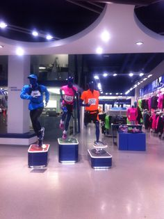 Amsterdam, Asics concept store