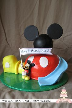 Custom Cakes By Stef Mickey Mouse Clubhouse Cake