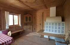 Stuben Small Log Cabin, Simply Home, Villa, Build Your Own, Rustic Charm, Architecture Design, Modern, Room, Furniture