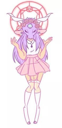 Image result for creepy cute pastel goth drawing