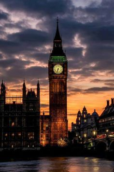 The tallest clock in the world. Big Ben.