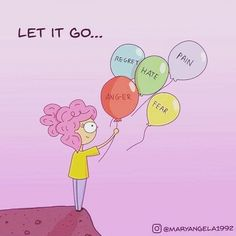 """🅛🅞🅥🅔 ♥️ 🅑🅔🅒🅒🅐 Let it go before it starts to control you and your life. The burden is not for you to handle alone but nothing will change…"""" Never Give Up, Let It Be, Mental Health And Wellbeing, Motivational Phrases, Praise And Worship, Coping Skills, New Opportunities, Self Help, Making Ideas"""
