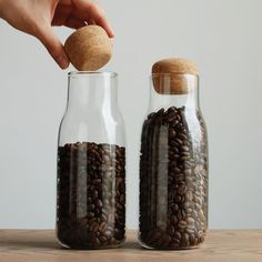 Re-Stocked Stunning Kinto Bottlit Bean Storage air tight seal with cork lid! Shop Online at: @alternativebrewing - link in bio  Flat Rate 1-4 Day Shipping in Australia http://ift.tt/20b7VYo