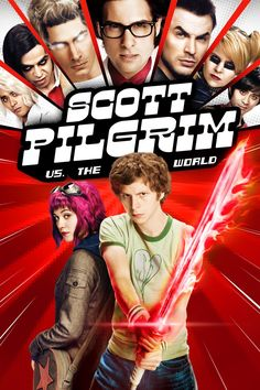 """Scott Pilgrim vs. the World"" Its script may not be as dazzling as its eye-popping visuals, but Scott Pilgrim vs. the World is fast, funny, and inventive."