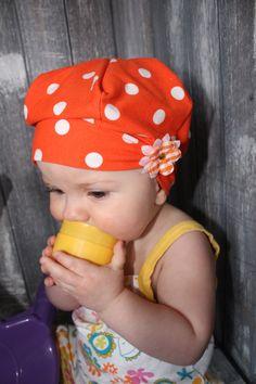 Béret chapeau fille bébé enfant extensible par MademoiselleRoserose