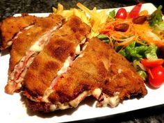 Receta Tradicional Cachopo Asturiano ( CC Esp Sub )   Reteta Spaniola CACHOPO   Anyta Cooking - YouTube Meatloaf, Pork, Beef, Food And Drink, Youtube, Gastronomia, Christmas Foods, Ham, Kale Stir Fry