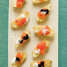 Smoked Salmon and Fingerling Potatoes recipe. Crazy about sea food? Here's a way to make fingerlings with the seafood you love. Try it out with Grand Bend Produce's fingerlings!