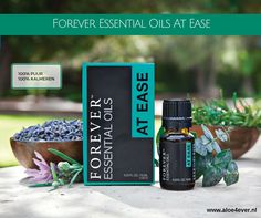 Forever™ Essential Oils At Ease Blend provides a perfectly balanced combination of nature's purest Wintergreen, Lavandin, Eucalyptus, Coriander, Olibanum, Rosemary, Chamomile, Peppermint, Basil and Origanum, specially blended to promote harmony, calm and peace.