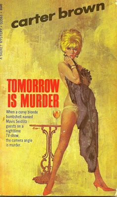published 1968 - illustrated by Robert McGinnis