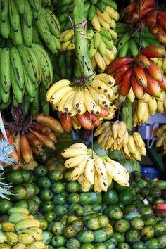 Bananas at a market, Sri Lanka