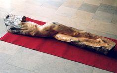 jerzy fober, studia wyższe, 1999, drewno polichromowane
