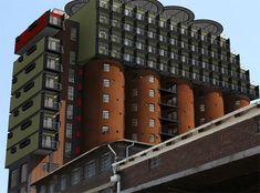 Stacked on Silos: Shipping Containers Reclaimed as Dorms by Steph