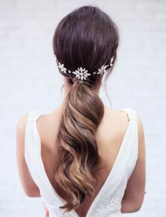 9 Bohemian Wedding Hair Accessories from Etsy for Your Entire Bridal Party via Brit + Co