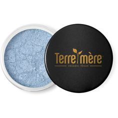 Terre Mere Cosmetics Mineral Eyeshadow in Aquamarine (110 HRK) ❤ liked on Polyvore featuring beauty products, makeup, eye makeup, eyeshadow, beauty, no color, eyeshadow brushes, blender brush, mineral eyeshadow and eye shadow brush