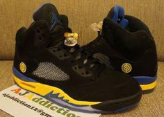 """Preview: Air Jordan 5 Retro """"Black Laney"""""""