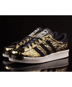 timeless design fb3ba 76e41 Homme Adidas Superstar Metal Toe Gold, Noir