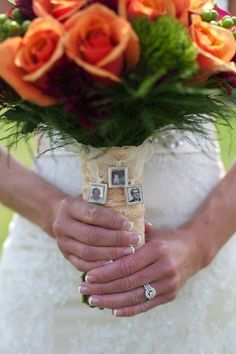 Remembrance - ideas to remember loved ones not with you on your wedding day.