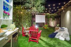 Transform your backyard into an outdoor movie theater with this easy DIY screen featured on HGTV, made from PVC pipes and a white sheet.
