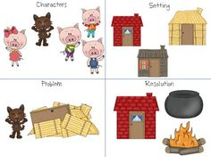 Home Sweet Speech Room : The Three Little Pigs Storybook Companion
