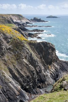 Pembrokeshire coast near Solva, Wales, UK - National Trust