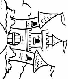 Dibujo de castillo 2