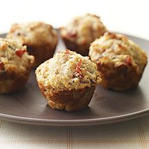 parmesan and prosciutto mini muffins