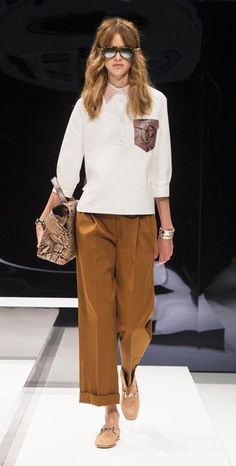 d20f6fcbd70 Discover the looks from Tod's Women's Spring Summer 2017 Collection. #Tods # SS17 #