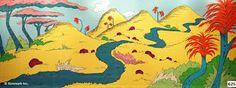 Image result for seussical set design jungle of nool