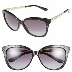 58 mm Retro Sunglasses Never worn Authentic Jimmy Choo! Awesome and so well made sunglasses! Jimmy Choo Accessories Sunglasses