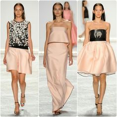 Hip Candy: NYFW: Favorite Looks From Monique Lhuillier Spring 2015...