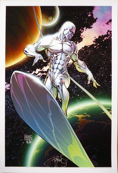 Silver Surfer by Michael Turner