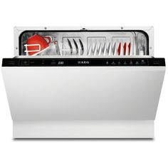 AEG F55210VI0 A+ Rated Fully Integrated 6 Place Compact Dishwasher