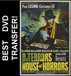 """Dr. Terror's House of Horrors"" is the first and one of the best of the Amicus anthologies.  With Peter Cushing as a sinister fortune teller and Christopher Lee as a snooty art critic, how could it go wrong?"